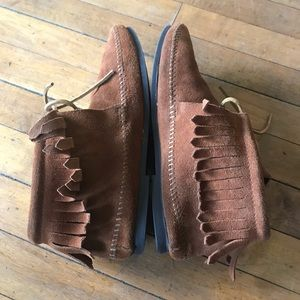 Minnetonka moccasins, Brown, ankle boot size 9.5